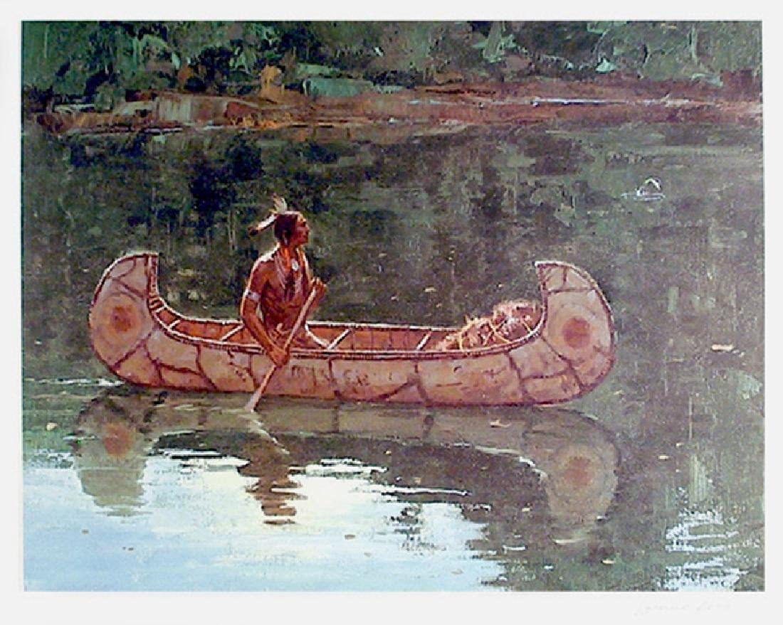 Duane Bryers, Green River, Lithograph,