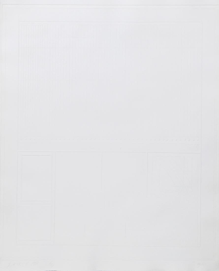 Shlomo Koren, Untitled III, Intaglio,