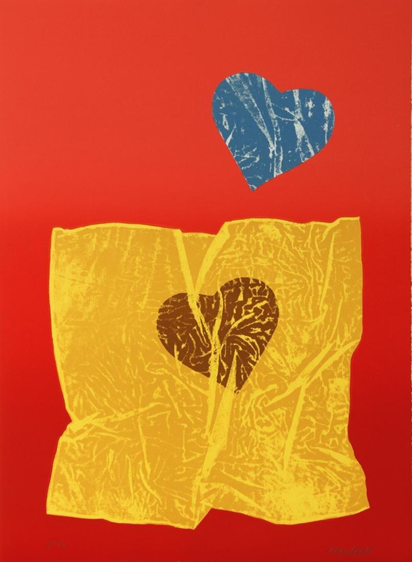 Antonio Recalcati, Love, Lithograph,
