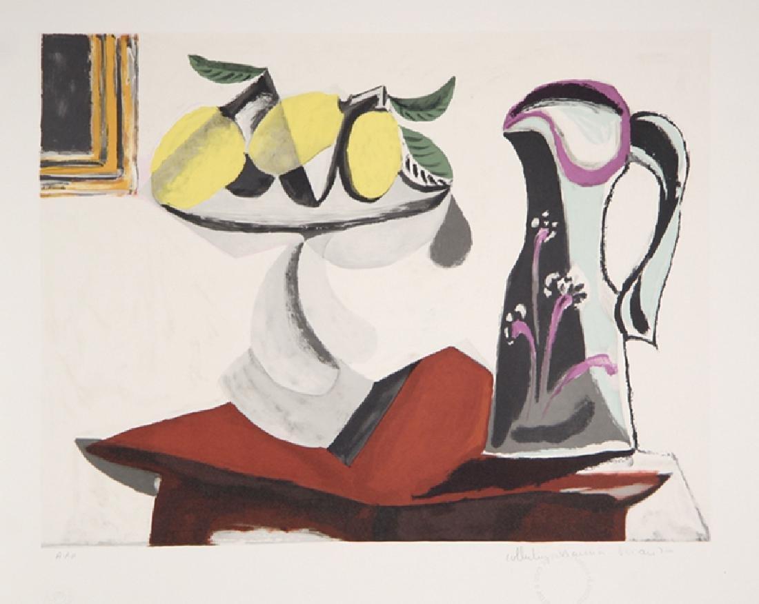 Pablo Picasso, Nature Morte au Citron et a la Cruche,