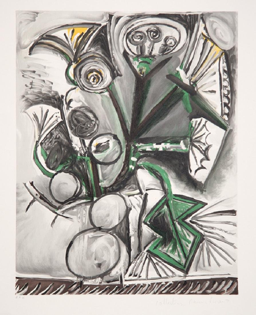Pablo Picasso, Le Bouquet, J-205, Lithograph on Arches