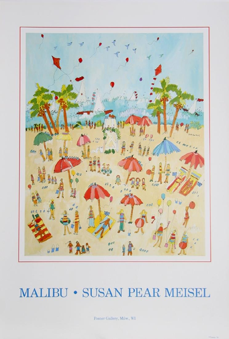 Susan Pear Meisel, Malibu, Poster