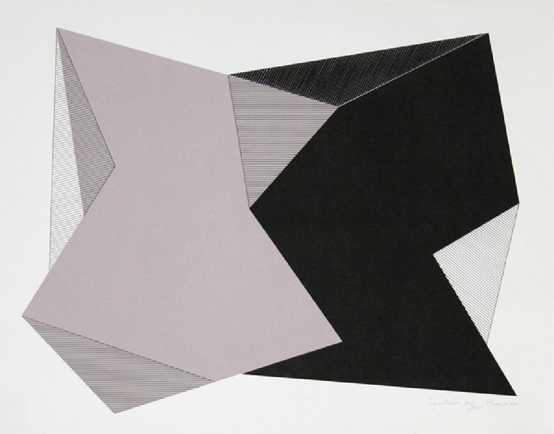 Jean-Marie Haessle, Symmetries, Serigraph,