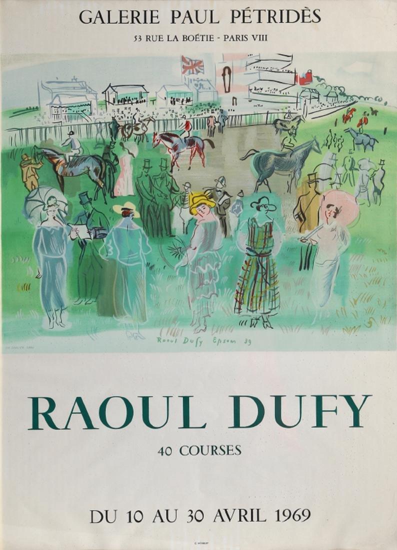Raoul Dufy, 40 Courses at Galerie Paul Petrides,