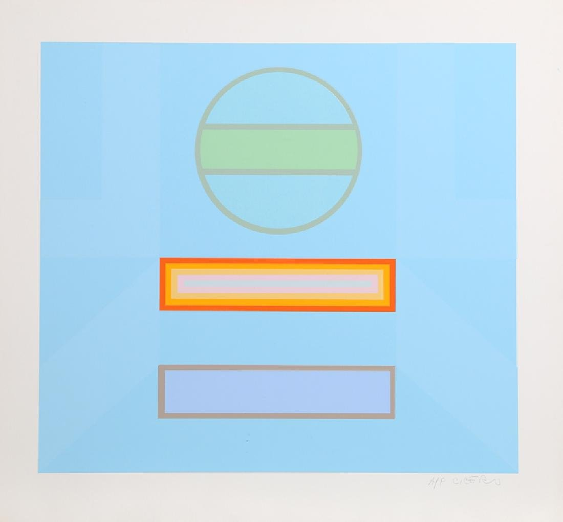 Carmen Cicero, Untitled 2, Silkscreen,
