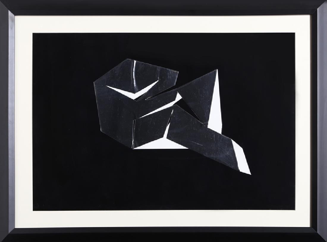 Beverly Pepper, untitled 2, Collage, signed and