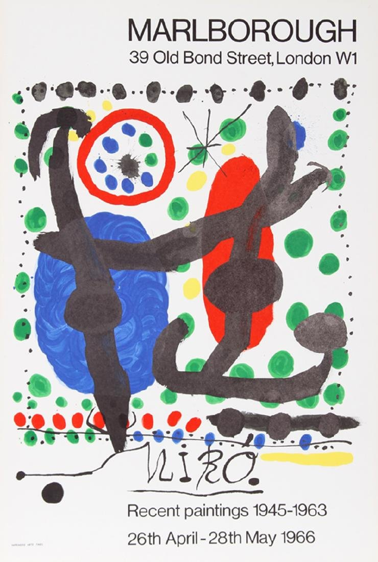 Joan Miro, Recent Paintings 1945-1963 Exhibition,