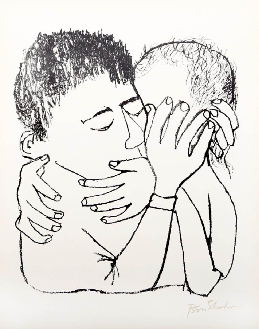 Ben Shahn, Memories of Many Nights of Love from the