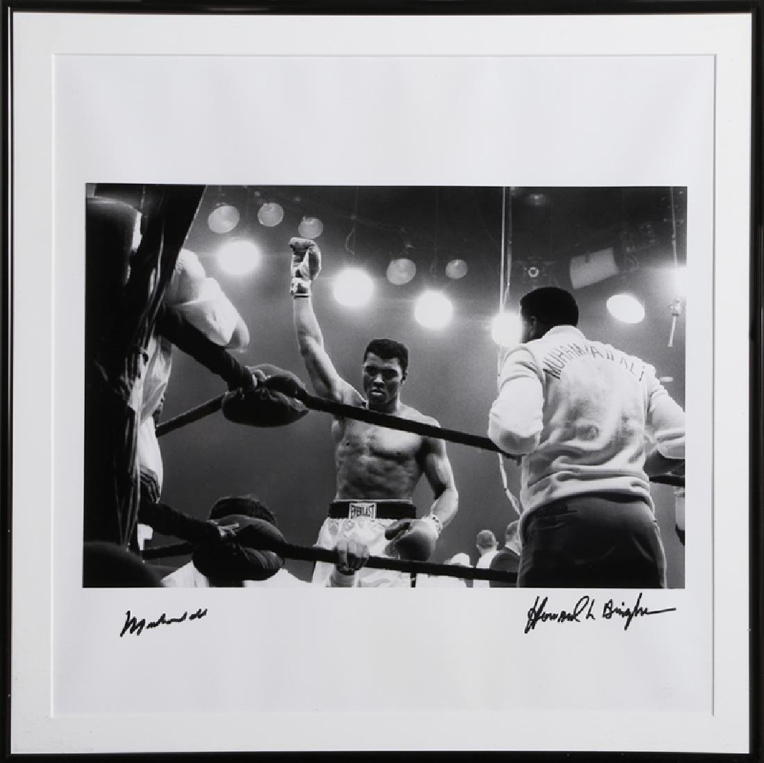 Howard L. Bingham, Ali vs Liston II, 1965 from GOAT: A