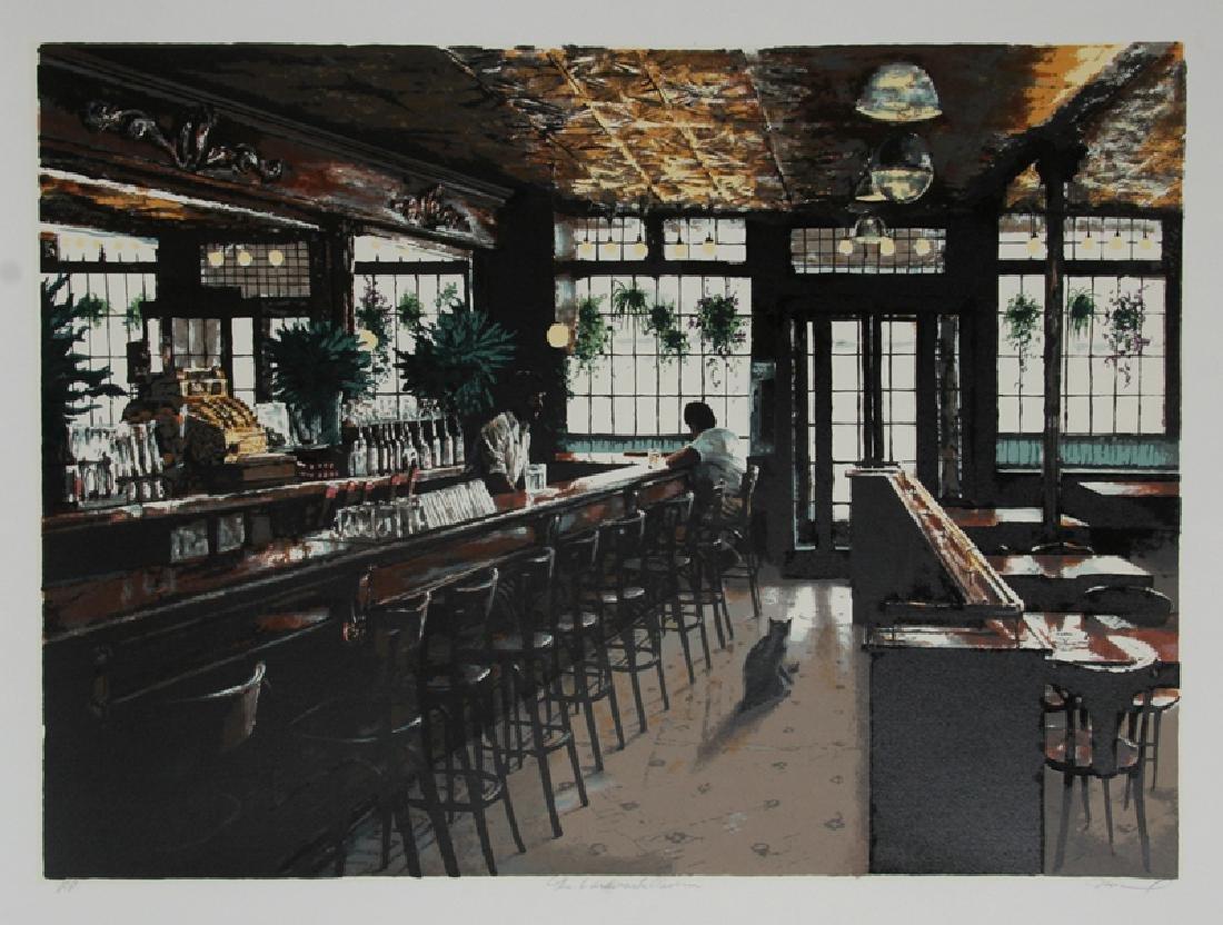 Harry McCormick, The Landmark Tavern, Serigraph,