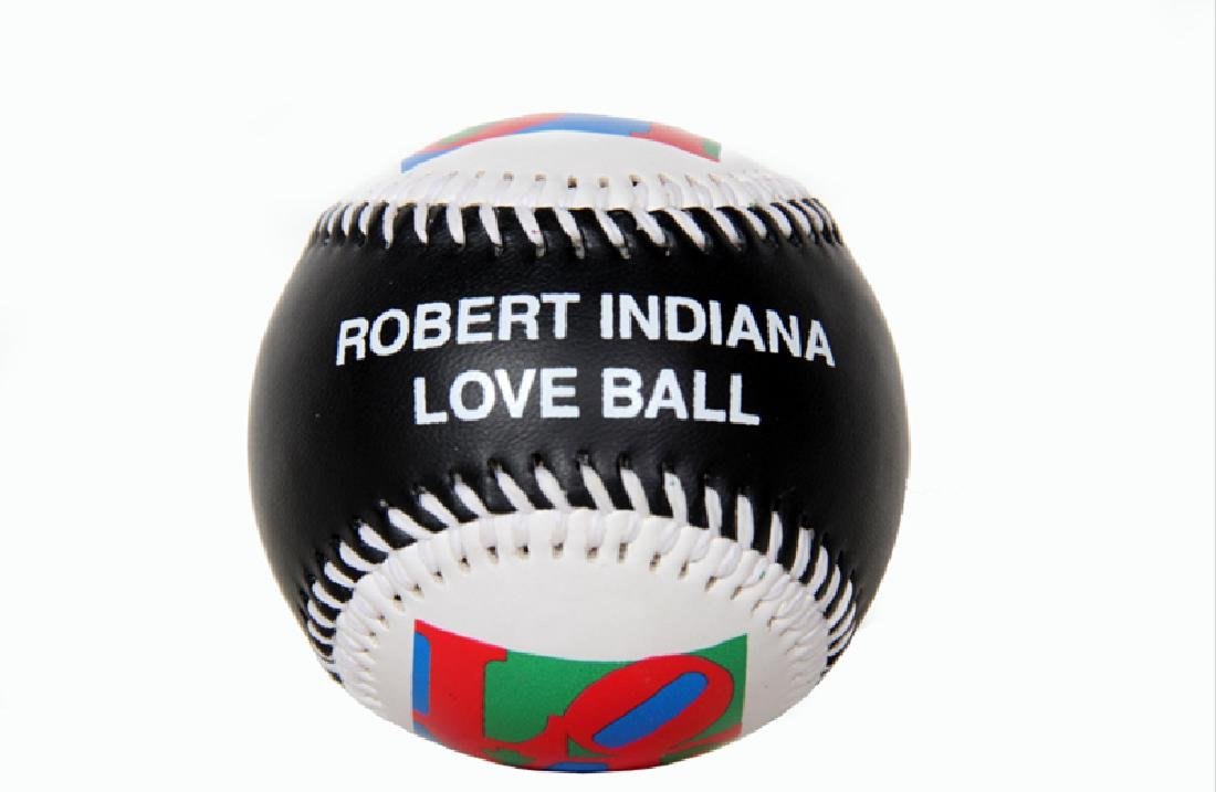 Robert Indiana, Love Ball, Collectible Baseball