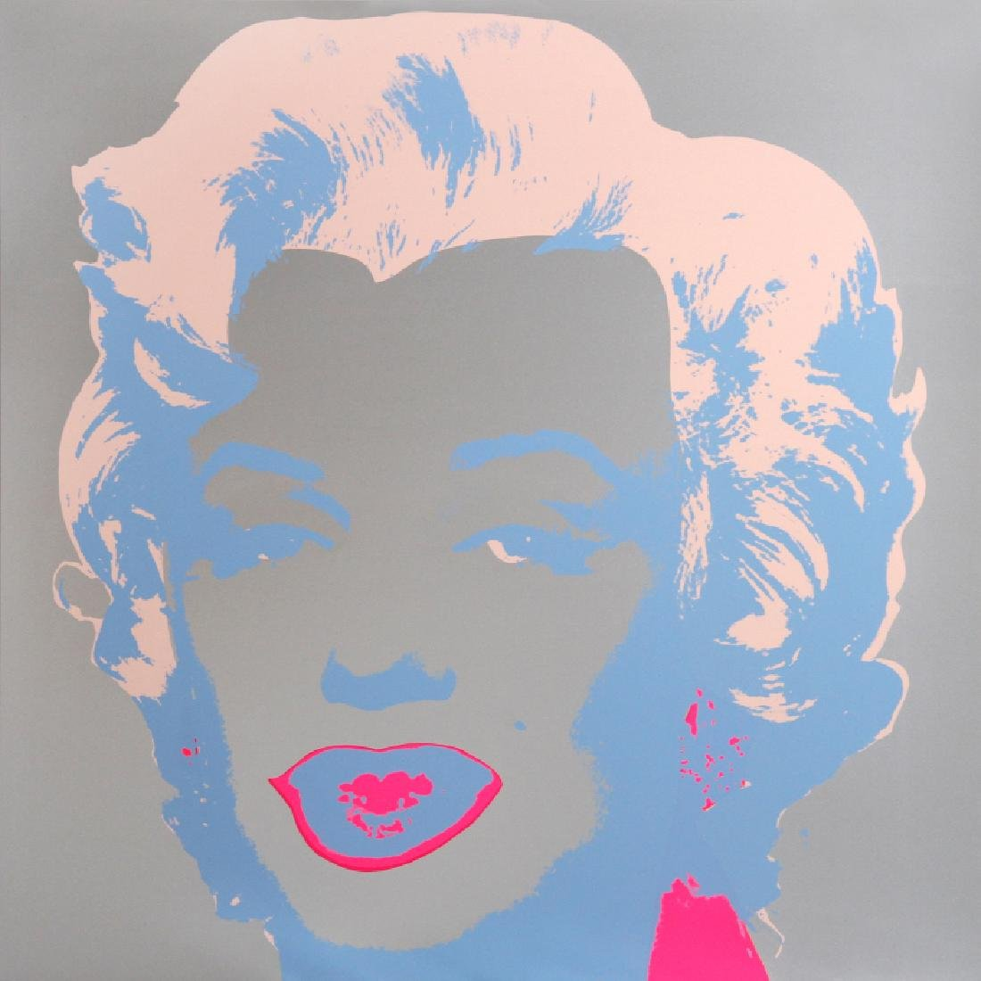 Andy Warhol, Marilyn Monroe 5, Serigraph, stamped verso