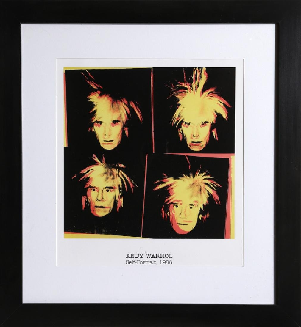 Andy Warhol, Self Potrait, Poster