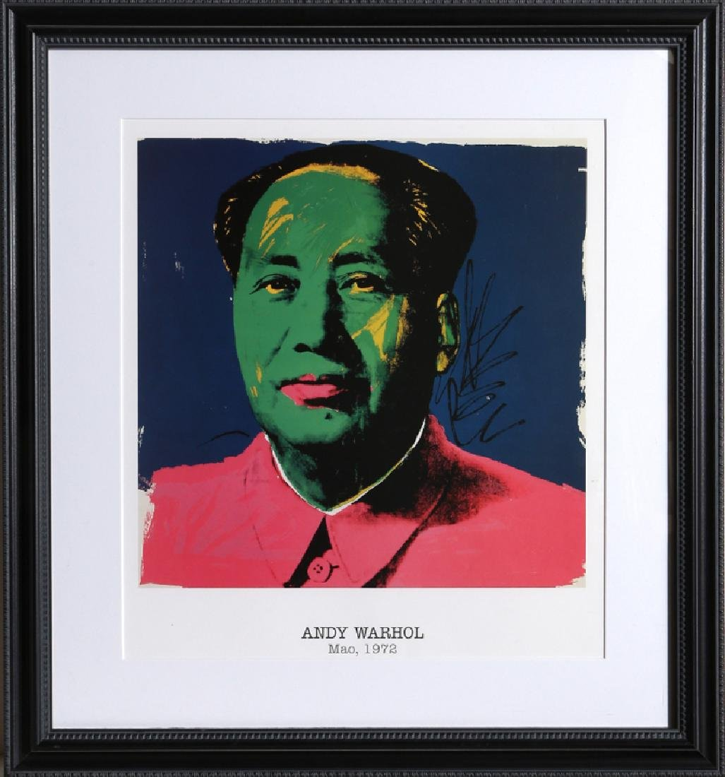 Andy Warhol, Mao, Poster