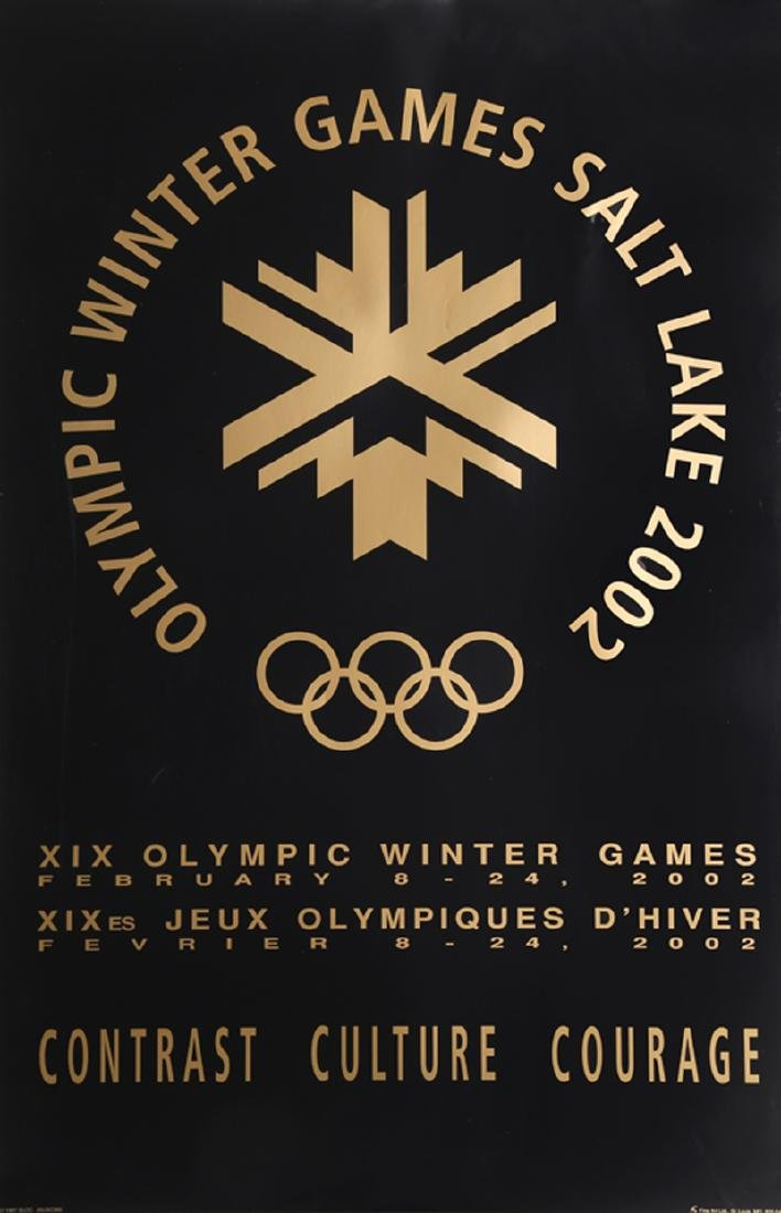 Winter Olympics: Salt Lake City 2002, Poster