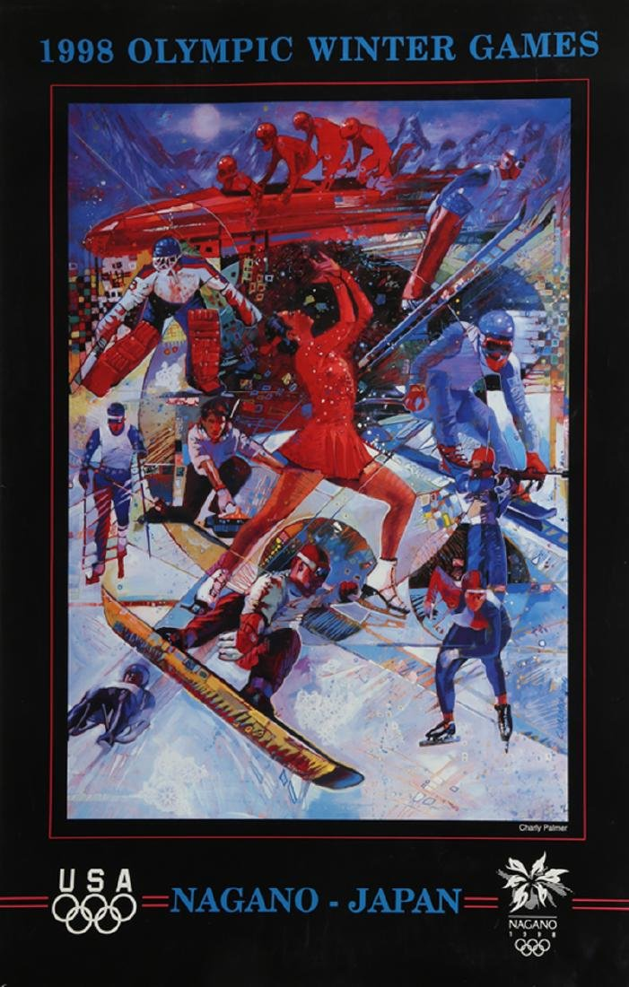 Winter Olympics: 1998, Poster
