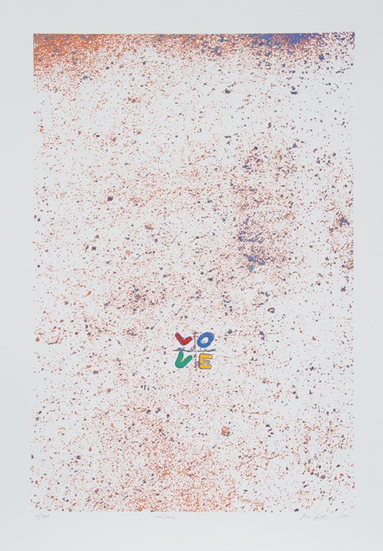 Max Epstein, Love, Serigraph,