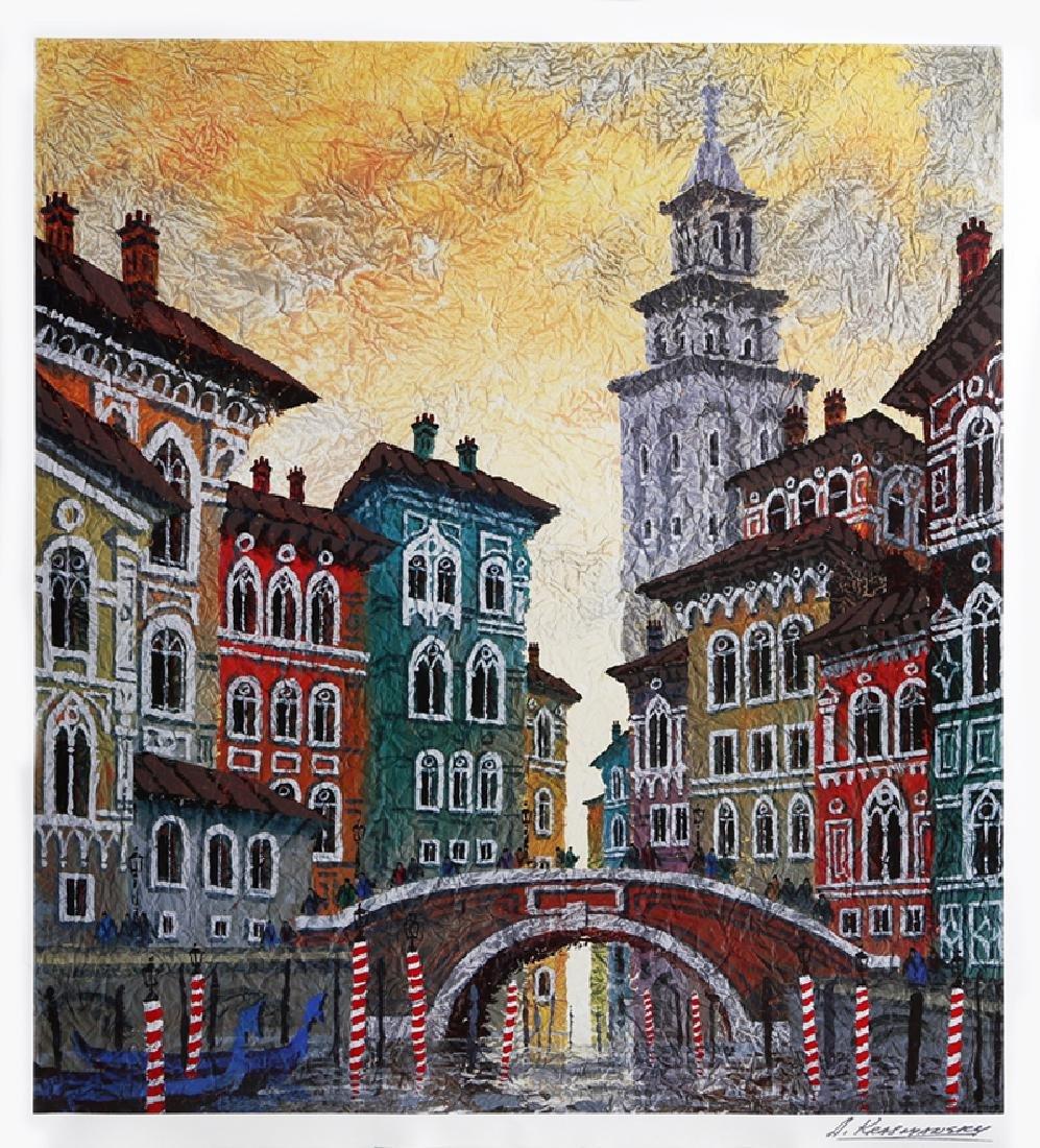 Anatole Krasnyansky, Venice Yellow Sunset,