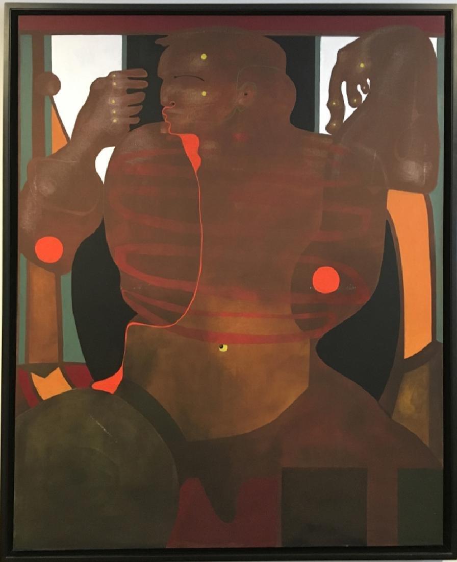 Eduardo Arranz-Bravo, Taksi-IV, Oil Painting