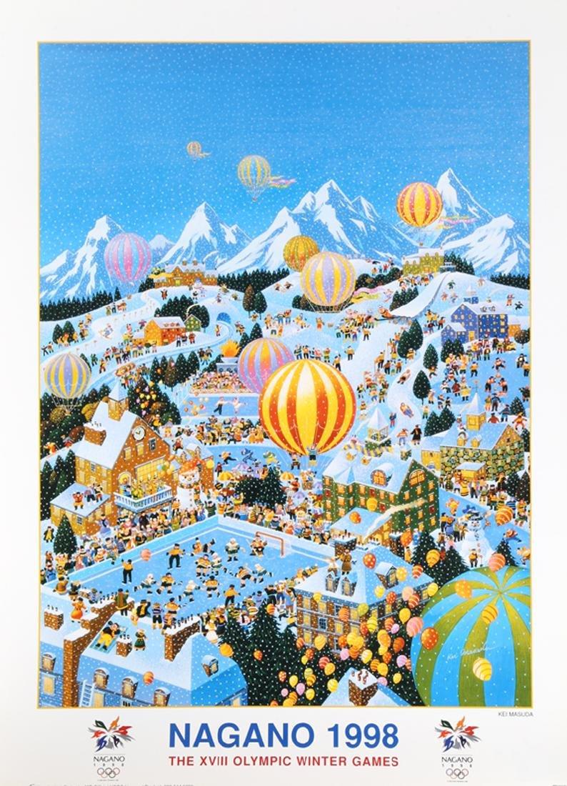 Kei Masuda, Winter Olympics 1998, Poster