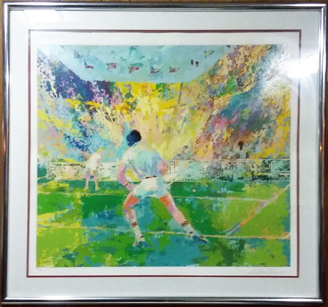 LeRoy Neiman, Stadium Tennis, Serigraph,