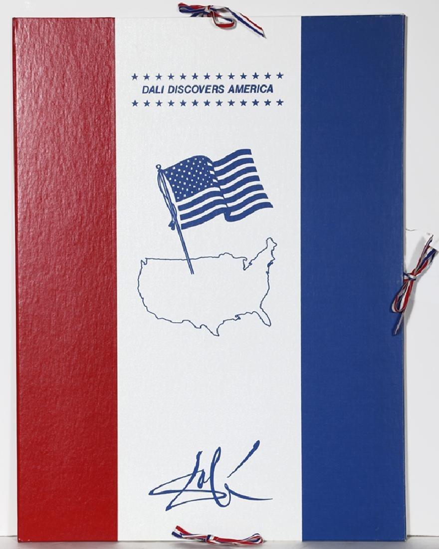 Salvador Dali, Dali Discovers America Portfolio, Two