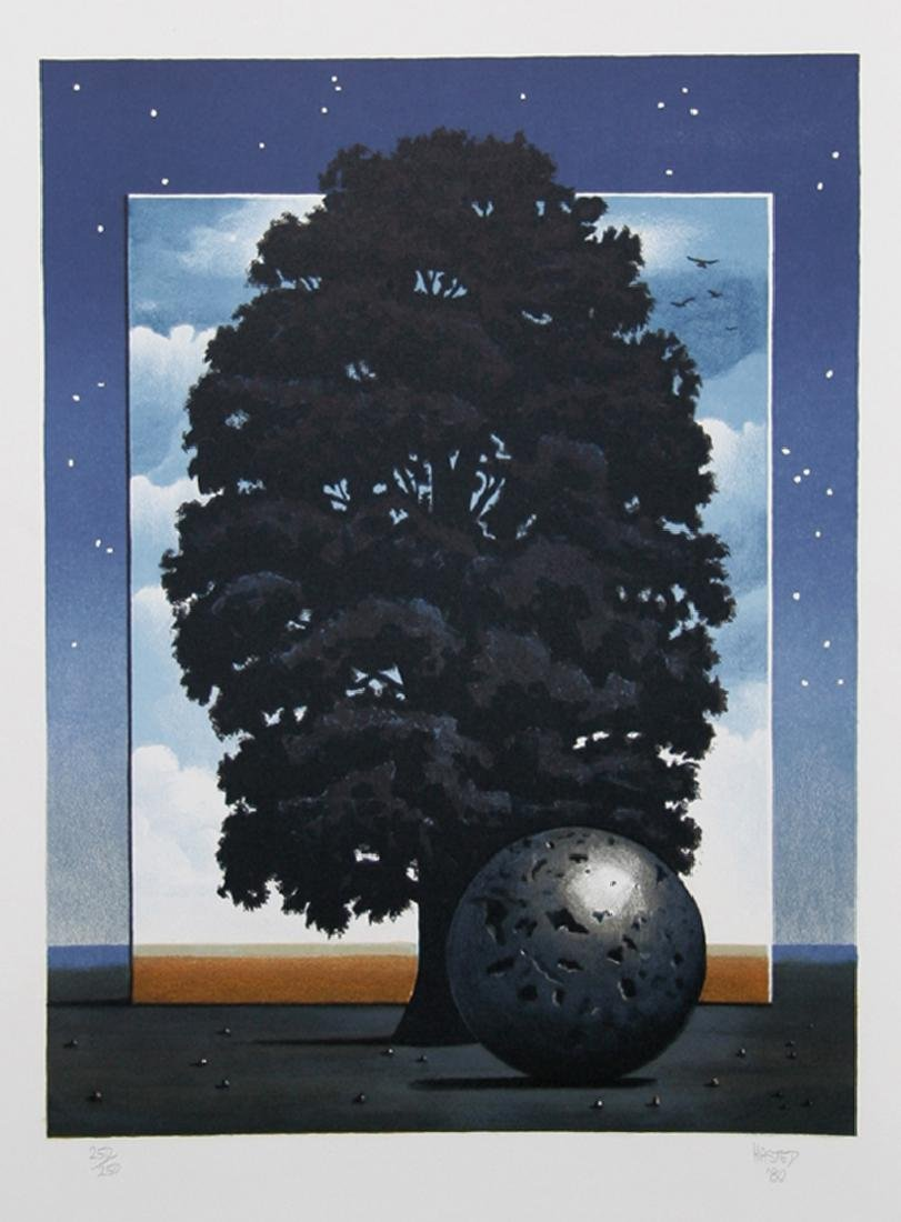Michael Hasted, Light of Discovery, Lithograph,