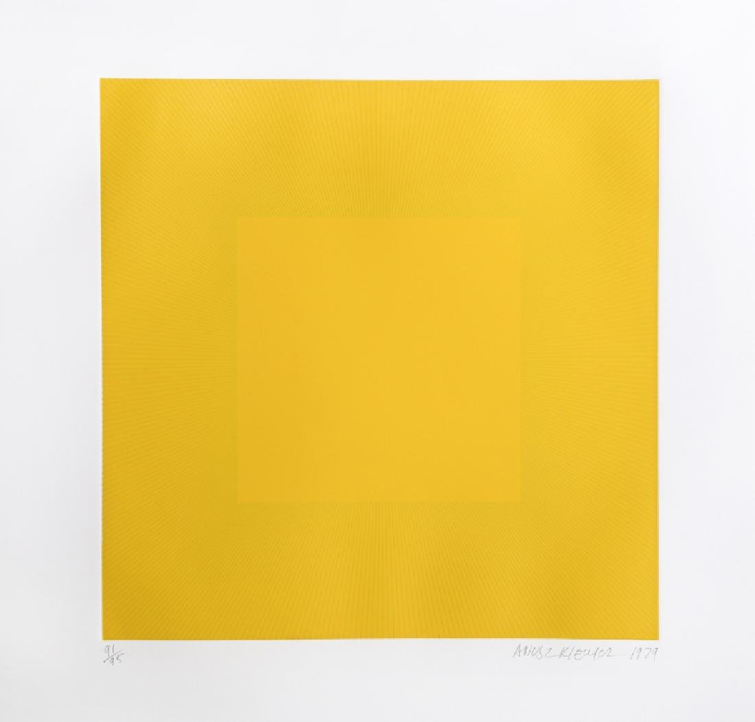 Richard Anuszkiewicz, Spring Suite (Yellow with