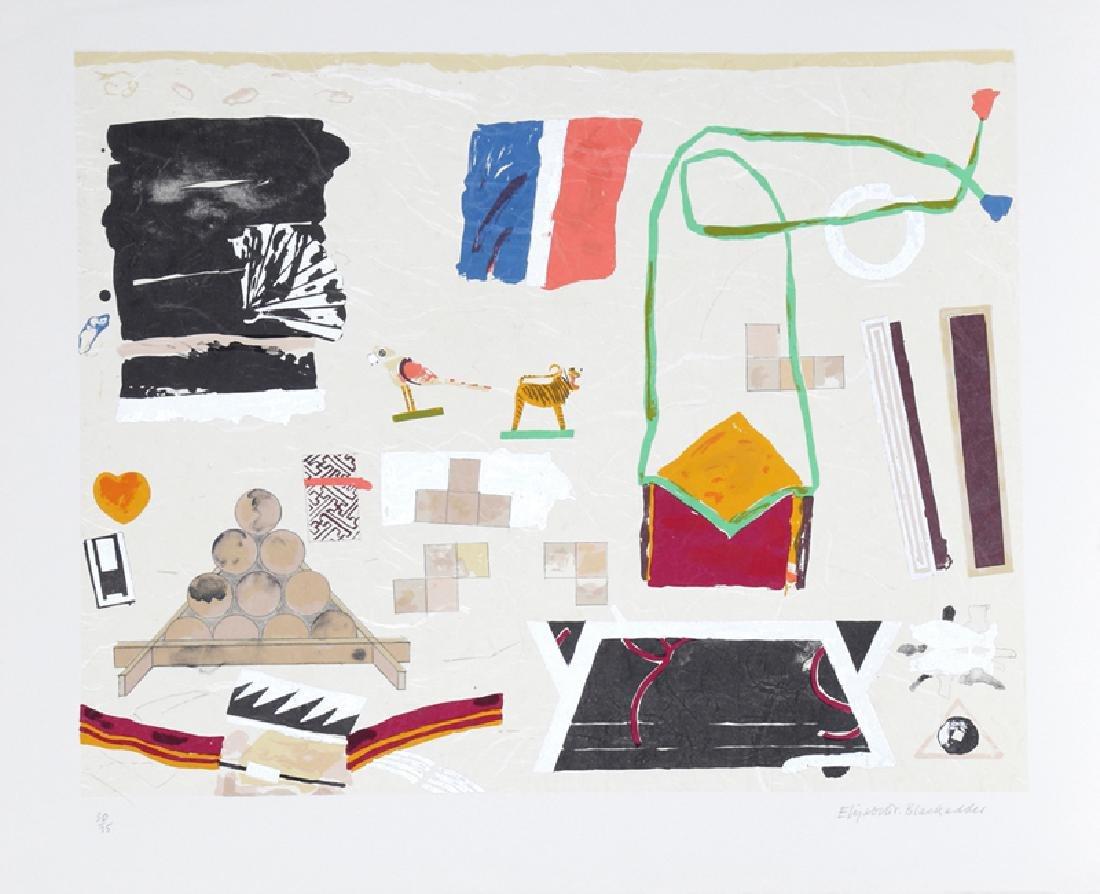 Elizabeth Blackadder,  - Paris Still Life, Lithograph