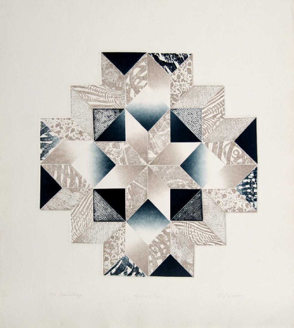 Kathy Caraccio, Widow's Cross, Aquatint Etching