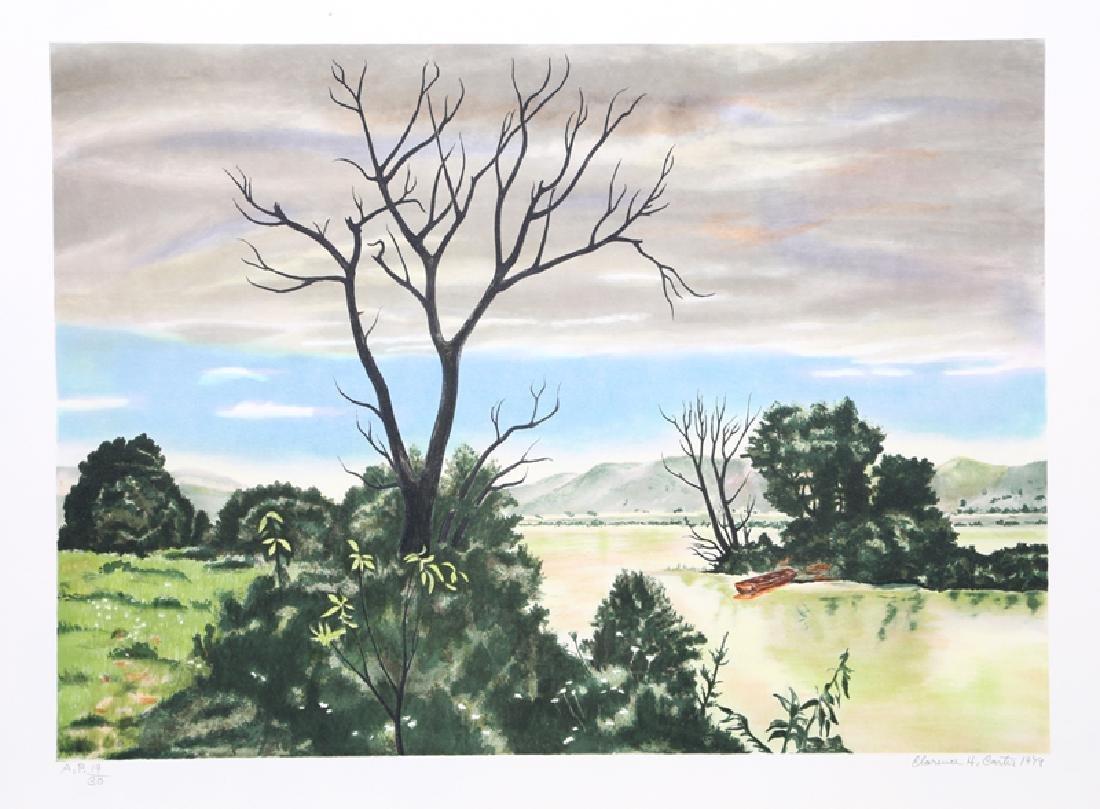Clarence Holbrook Carter, Early Spring Landscape,