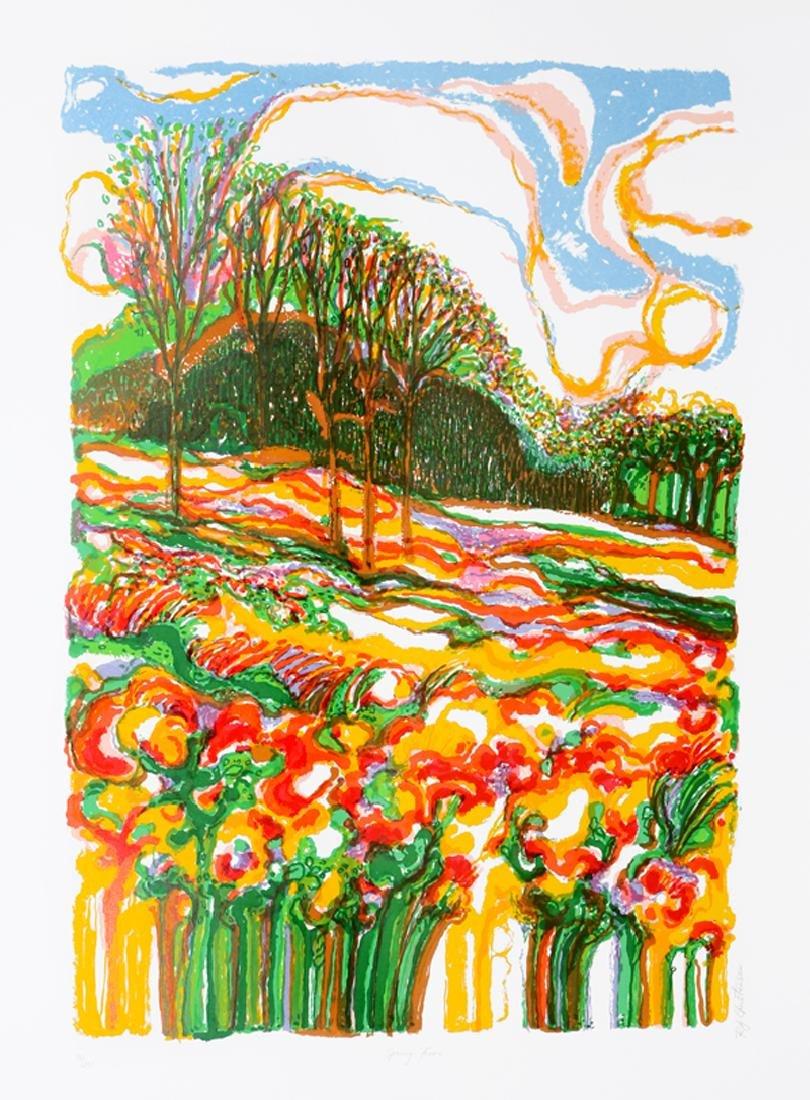 Ronald Julius Christensen, Spring Fever, Lithograph