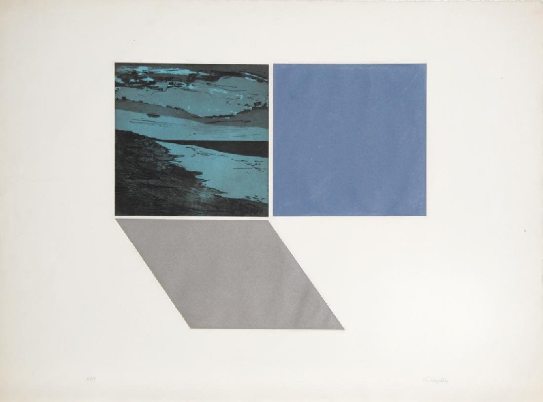 Francesco Copello, untitled, Aquatint Etching