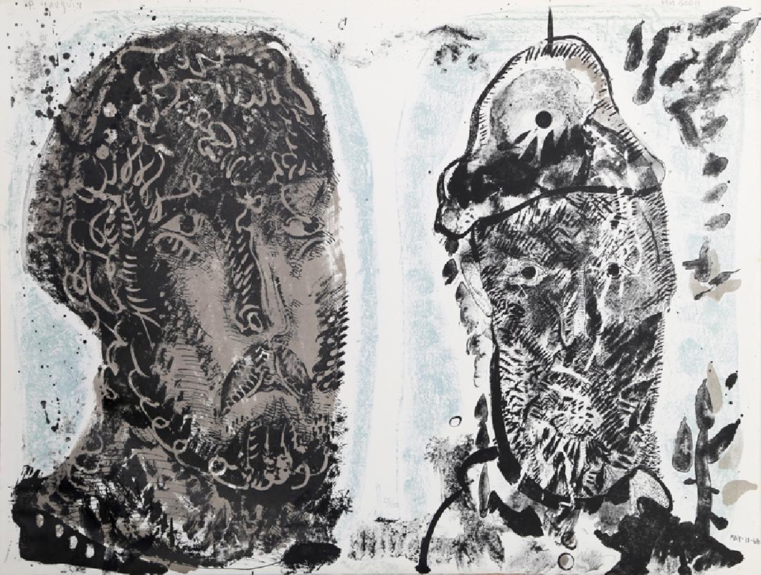 Jose Luis Cuevas, Van Gogh's Criminal Obsession,