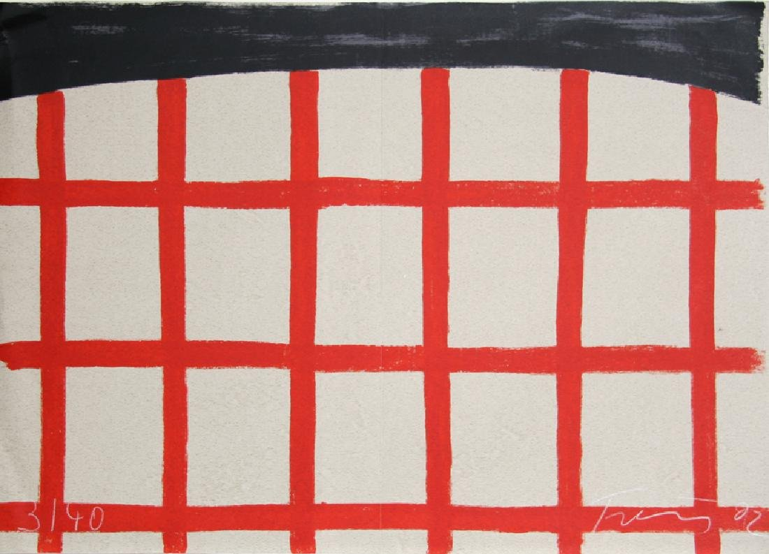 Gunther Forg, To the Builders 9, Serigraph