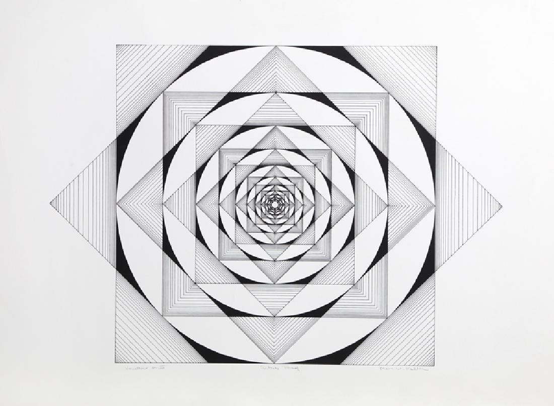 Marc Koller, Variations On III, Silkscreen
