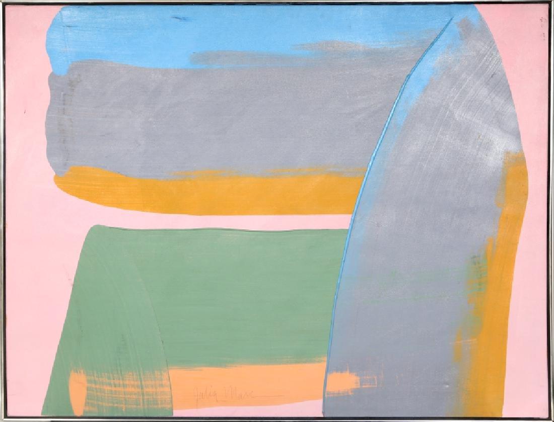 Julia Marc, Bolder Strokes 7, Acrylic on Canvas