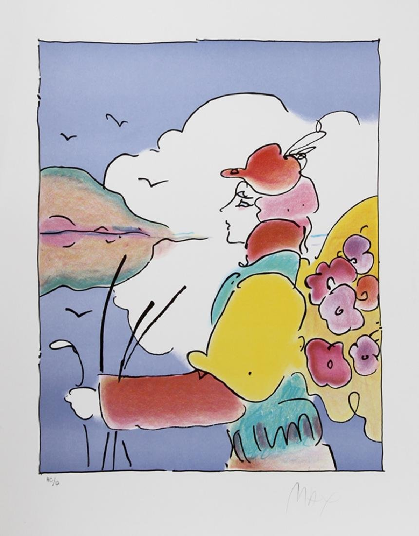 Peter Max, On A Distant Planet, Lithograph