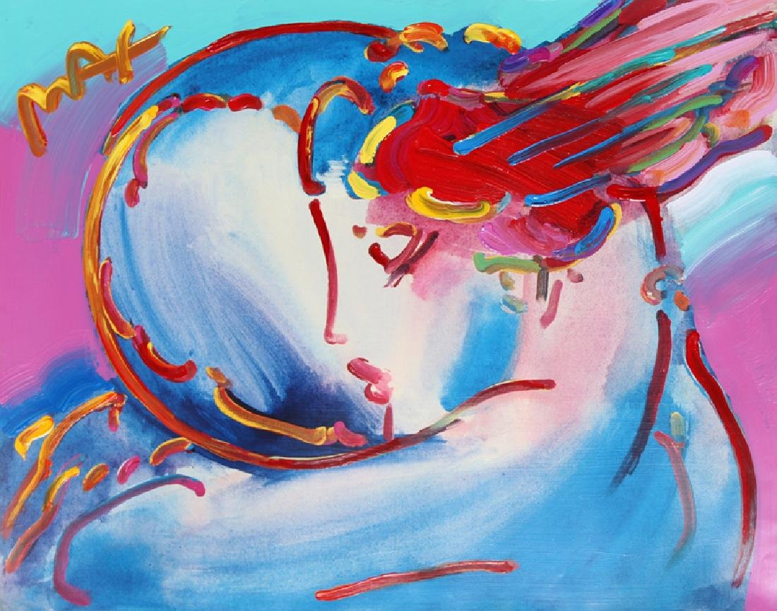 Peter Max, Peace by the Year 2000, Acrylic Painting