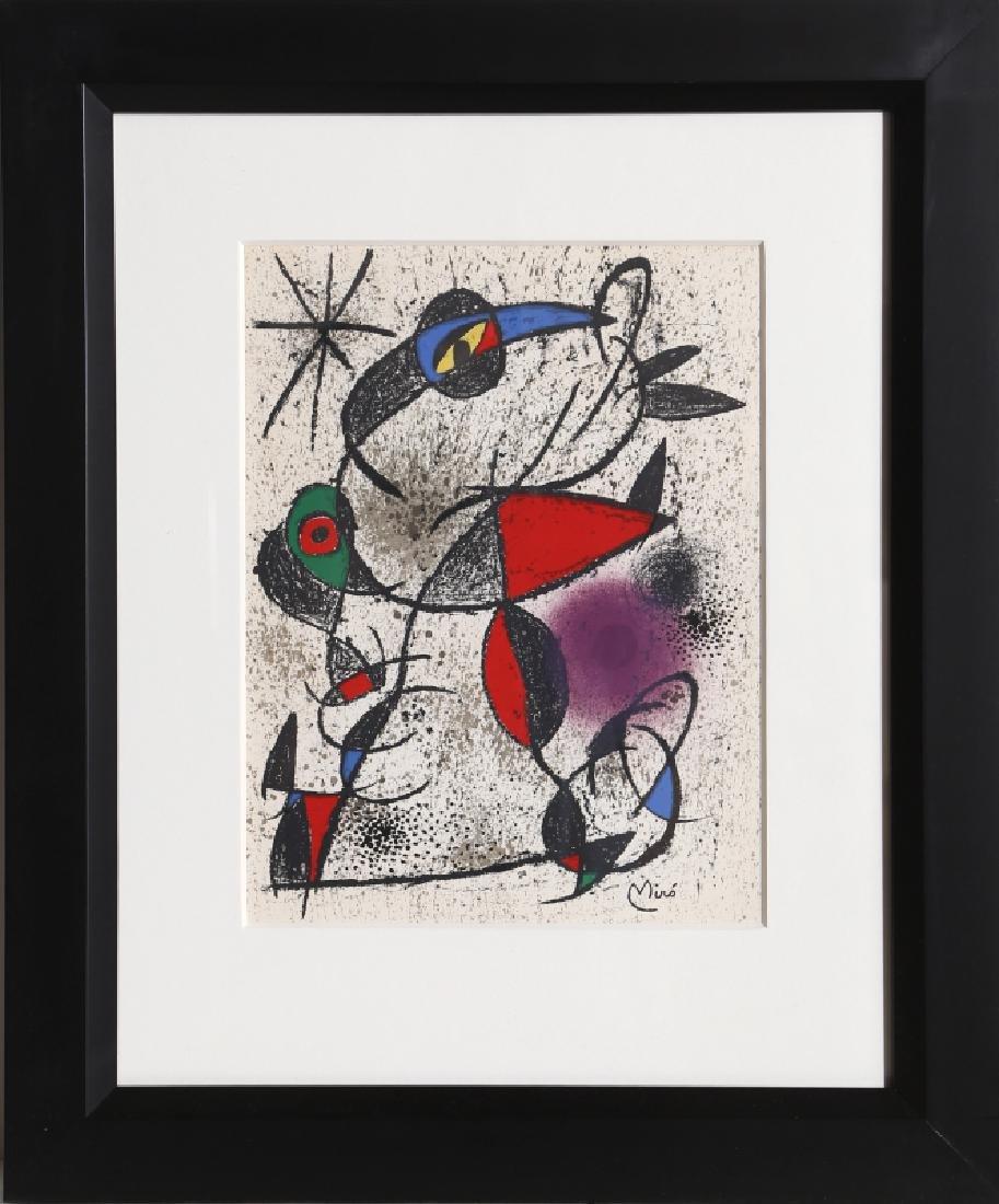 Joan Miro, Jaillie du Calcaire from Souvenirs de