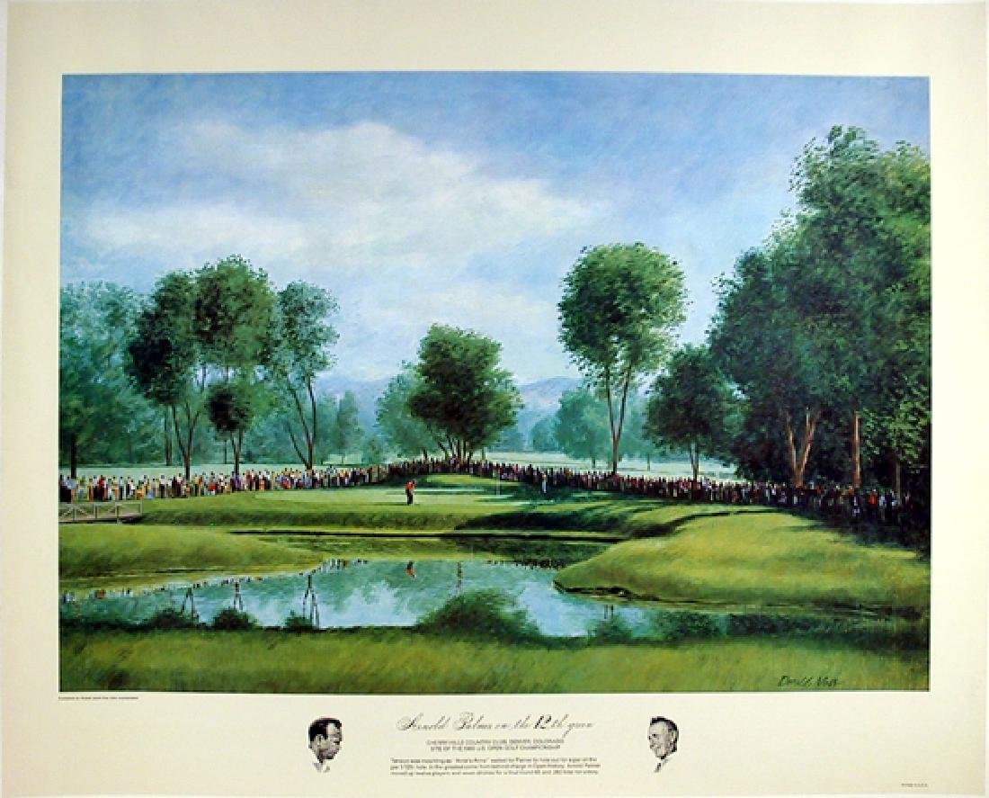 Donald Moss, Arnold Palmer, Lithograph