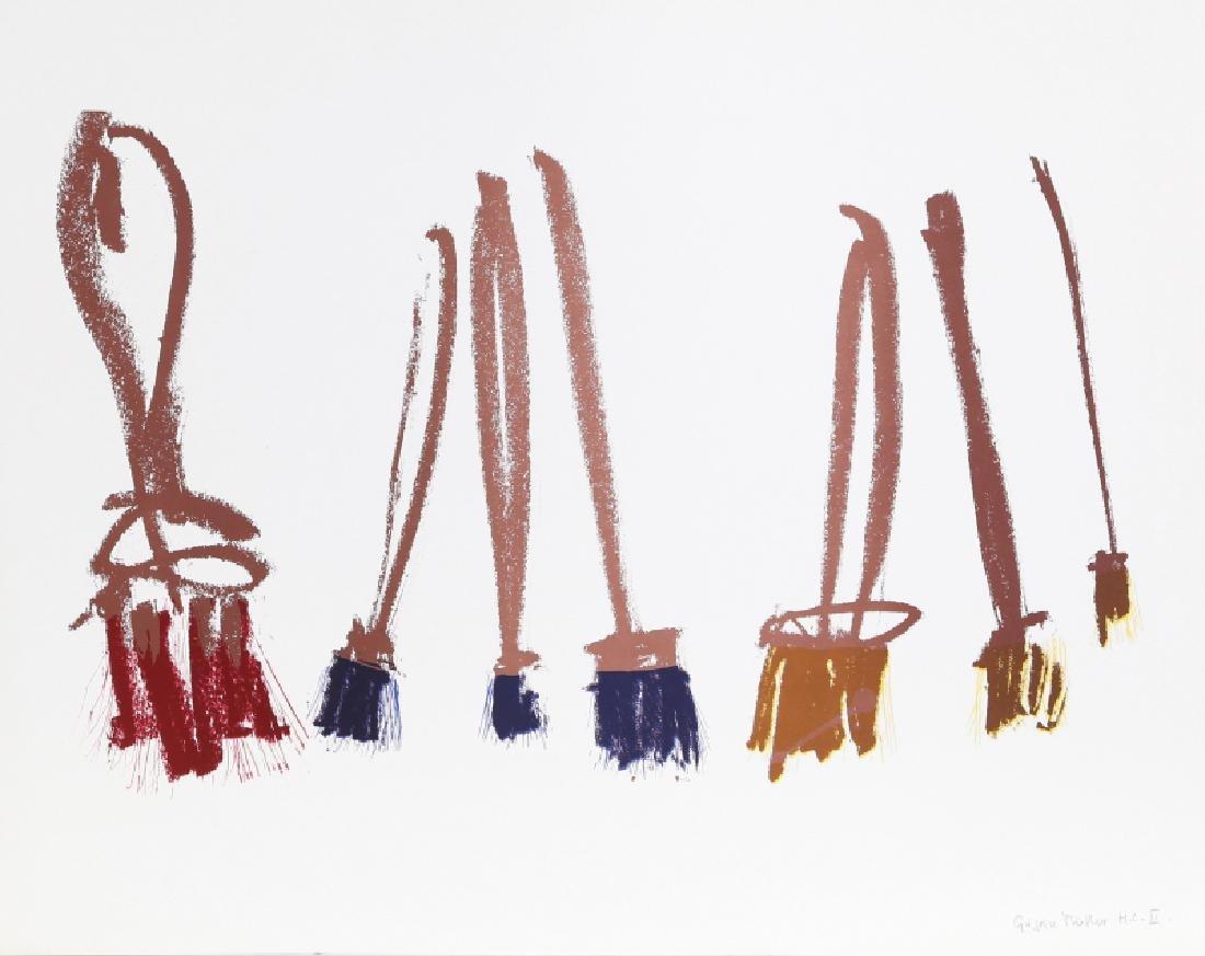 Gregoire Muller,  - Paintbrushes, Screenprint