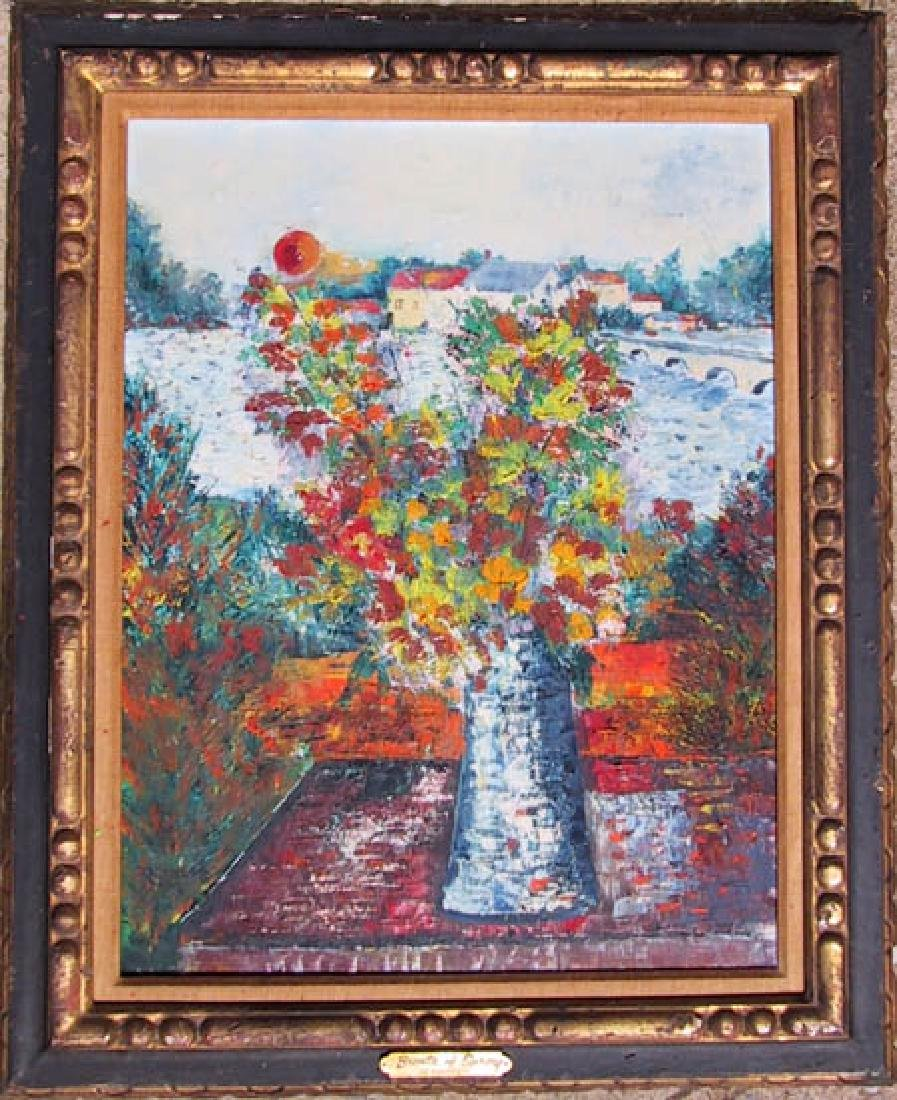 David Nemerov, Breath of Spring, Oil on Canvas, Signed