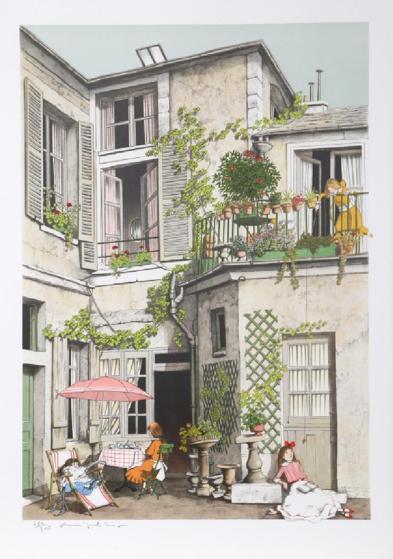 Denis Paul Noyer, Les Vacances, Lithograph