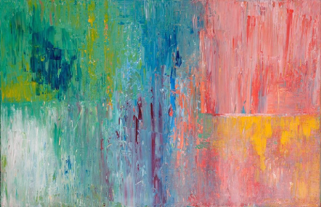 Polly Perruchot, Spring Time, Acrylic on Canvas