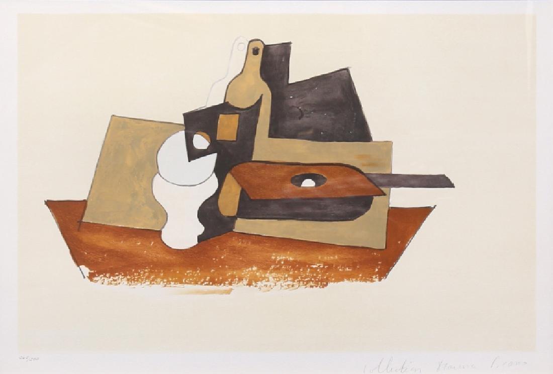 Pablo Picasso, Guitare Verre et Bouteille, 36-9,