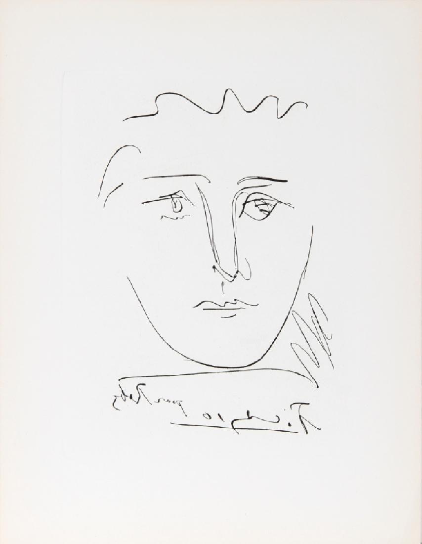 Pablo Picasso, L'Age de Soleil (Pour Roby), Etching