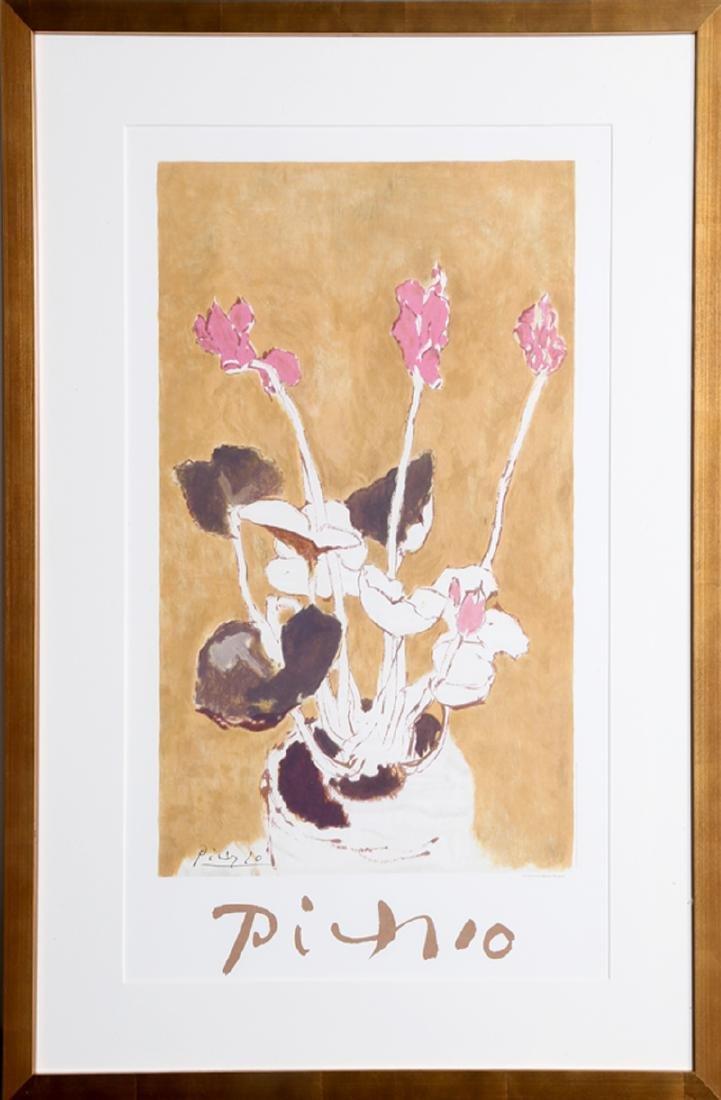 Pablo Picasso, Les Cyclamens, 22-E-k, Lithograph