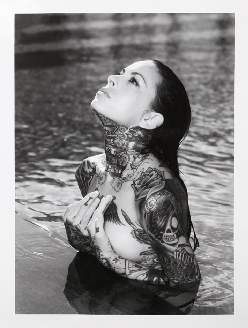 Warwick Saint, Woman in Water, Photograph