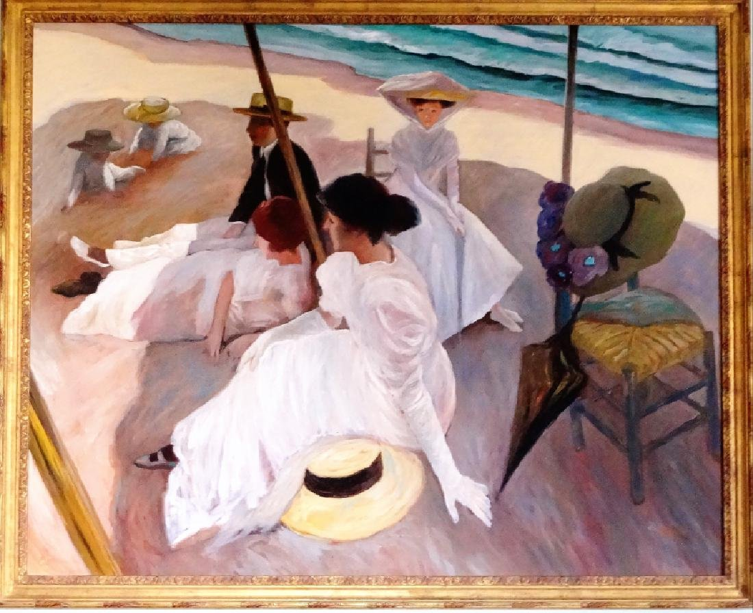 William Skilling, Afternoon on the Beach (Beach at